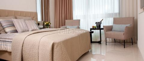 Светлая и уютная однокомнатная квартира в Нетании