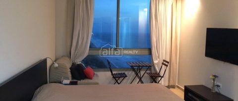 Прекрасные однокомнатные апартаменты у морского побережья в Нетании