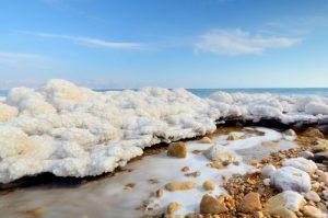 Оздоровительные процедуры на Мертвом море