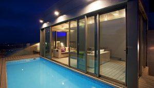 Собственный бассейн в апартаментах