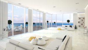 Роскошные апартаменты с видом на море для незабываемого отдыха