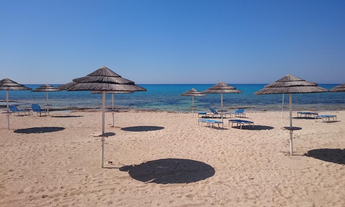 пляж Айя-Текла